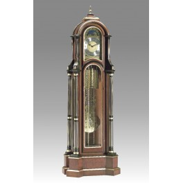 508/2 Orologio a pendolo cigliegio nero e oro