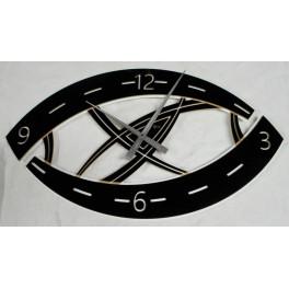 Orologio da parete di Designal quarzo Art.Strada Occhio